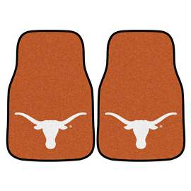 University of Texas  2-pc Carpet Car Mat Set