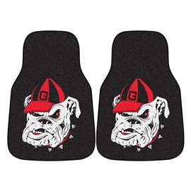 University of Georgia  2-pc Carpet Car Mat Set