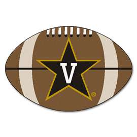 Vanderbilt University  Football Mat Mat Rug Carpet