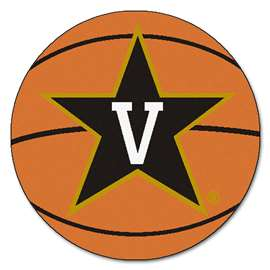 Vanderbilt University  Basketball Mat Rug Carpet Mats