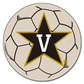 Vanderbilt University  Soccer Ball Mat, Rug , Carpet