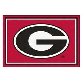 University of Georgia  5x8 Rug Rug Carpet Mats