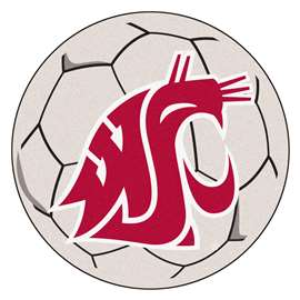 Washington State University  Soccer Ball Mat, Rug , Carpet