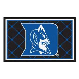 Duke University  4x6 Rug Rug Carpet Mats