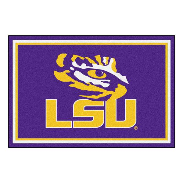Louisiana State University  5x8 Rug Rug Carpet Mats