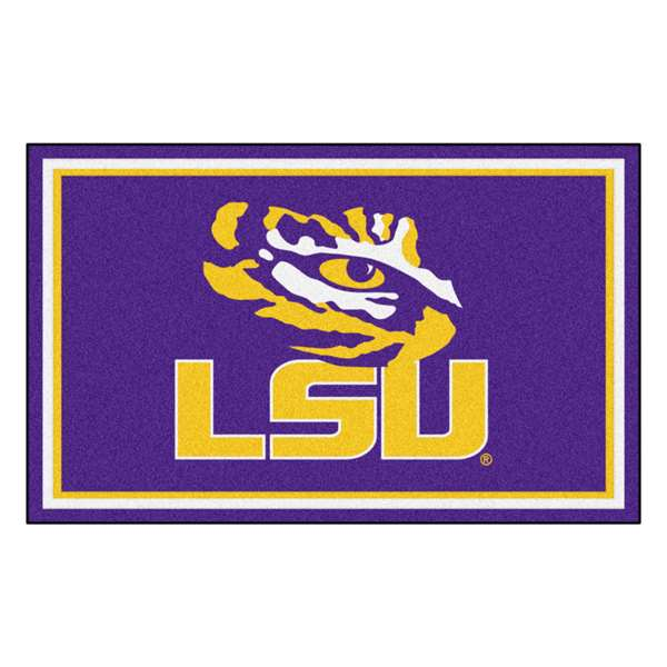 Louisiana State University  4x6 Rug Rug Carpet Mats