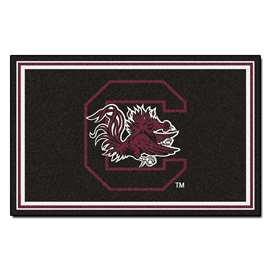 University of South Carolina 4x6 Rug Plush Rugs
