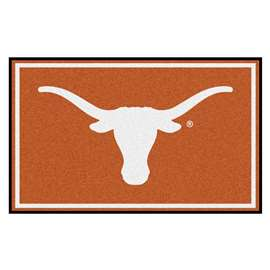 University of Texas 4x6 Rug Plush Rugs