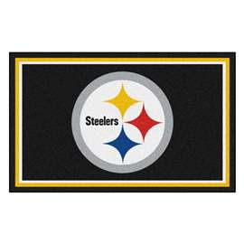 NFL - Pittsburgh Steelers 4x6 Rug Plush Rugs