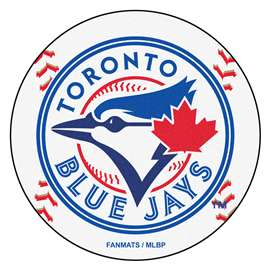 "MLB - Toronto Blue Jays Baseball Mat 27"" diameter   Baseball Mat"