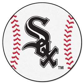 "MLB - Chicago White Sox Baseball Mat 27"" diameter   Baseball Mat"