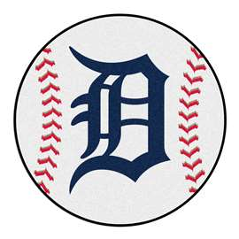 "MLB - Detroit Tigers Baseball Mat 27"" diameter   Baseball Mat"