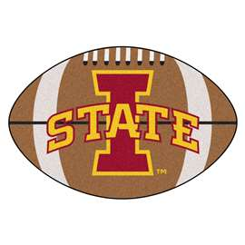 Iowa State University   Football Mat Mat Rug Carpet
