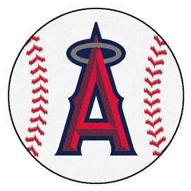 "MLB - Los Angeles Angels Baseball Mat 27"" diameter   Baseball Mat"