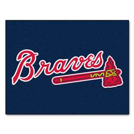 "MLB - Atlanta Braves All-Star Mat 33.75""x42.5""  All Star Mat"