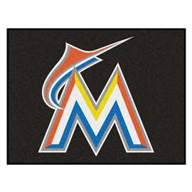 "MLB - Miami Marlins All-Star Mat 33.75""x42.5""  All Star Mat"