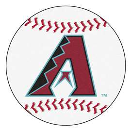 "MLB - Arizona Diamondbacks Baseball Mat 27"" diameter   Baseball Mat"