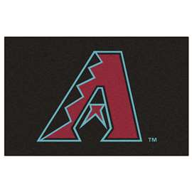 "MLB - Arizona Diamondbacks Starter Rug 19""x30""  Starter Mat"