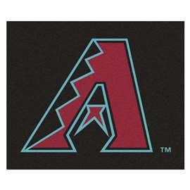 MLB - Arizona Diamondbacks Tailgater Rug 5'x6'  Tailgater Mat