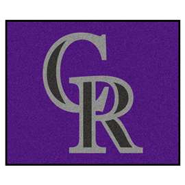 MLB - Colorado Rockies Tailgater Rug 5'x6'  Tailgater Mat