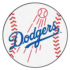 "MLB - Los Angeles Dodgers Baseball Mat 27"" diameter   Baseball Mat"