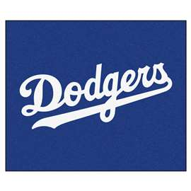 MLB - Los Angeles Dodgers Tailgater Rug 5'x6'  Tailgater Mat