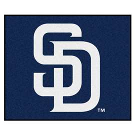 MLB - San Diego Padres Tailgater Rug 5'x6'  Tailgater Mat