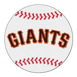 "MLB - San Francisco Giants Baseball Mat 27"" diameter   Baseball Mat"
