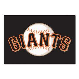 "MLB - San Francisco Giants Starter Rug 19""x30""  Starter Mat"