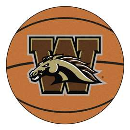 Western Michigan University  Basketball Mat Rug Carpet Mats
