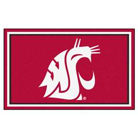 Washington State University  4x6 Rug Rug Carpet Mats