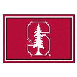Stanford University  5x8 Rug Rug Carpet Mats