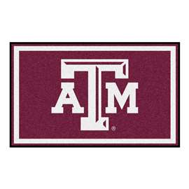 Texas A&M University  4x6 Rug Rug Carpet Mats