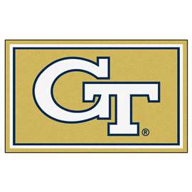 Georgia Tech  4x6 Rug Rug Carpet Mats