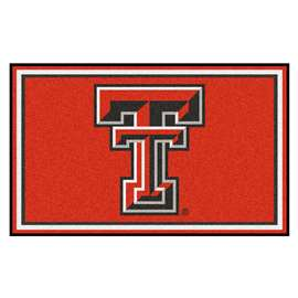 Texas Tech University  4x6 Rug Rug Carpet Mats