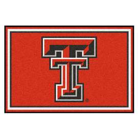 Texas Tech University  5x8 Rug Rug Carpet Mats