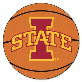 Iowa State University   Basketball Mat Rug Carpet Mats