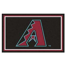 MLB - Arizona Diamondbacks 4'x6' Rug  4x6 Rug