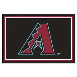 MLB - Arizona Diamondbacks 5'x8' Rug  5x8 Rug