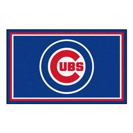 MLB - Chicago Cubs 4'x6' Rug  4x6 Rug