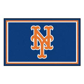 MLB - New York Mets 4'x6' Rug  4x6 Rug