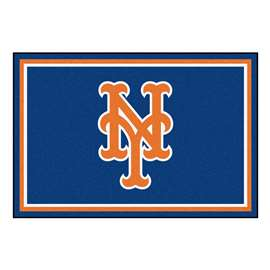 MLB - New York Mets 5'x8' Rug  5x8 Rug
