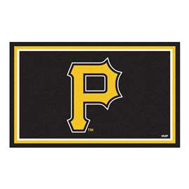 MLB - Pittsburgh Pirates 4'x6' Rug  4x6 Rug