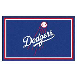 MLB - Los Angeles Dodgers 4'x6' Rug  4x6 Rug