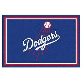 MLB - Los Angeles Dodgers 5'x8' Rug  5x8 Rug