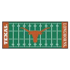University of Texas  Football Field Runner Mat Rug Carpet