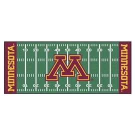 University of Minnesota  Football Field Runner Mat Rug Carpet