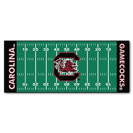 University of South Carolina  Football Field Runner Mat Rug Carpet