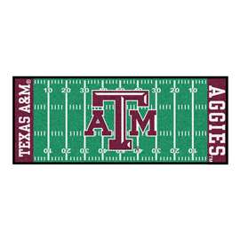 Texas A&M University  Football Field Runner Mat Rug Carpet