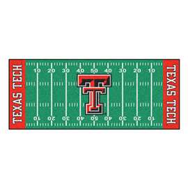Texas Tech University  Football Field Runner Mat Rug Carpet